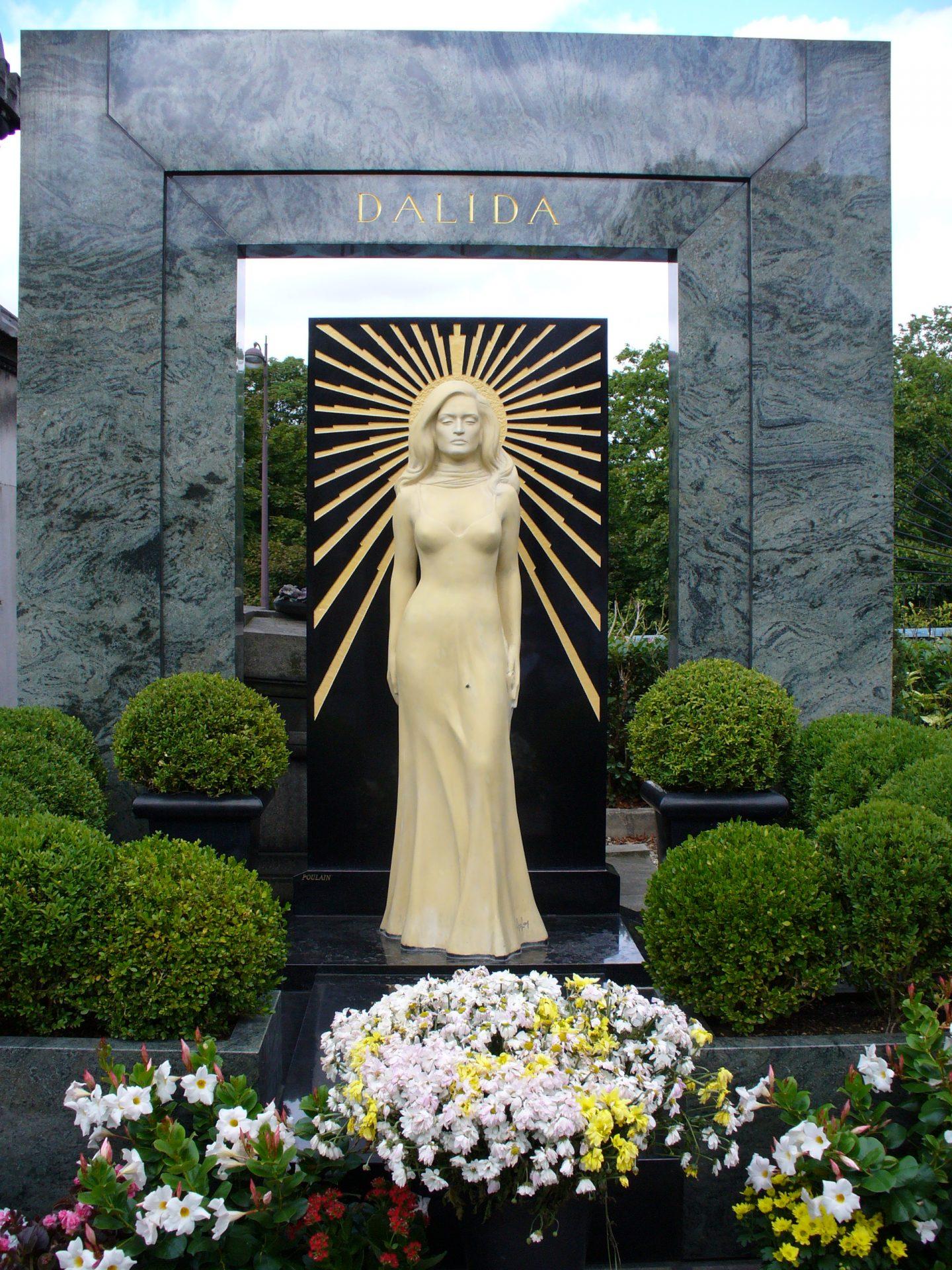 il monumento a Dalida