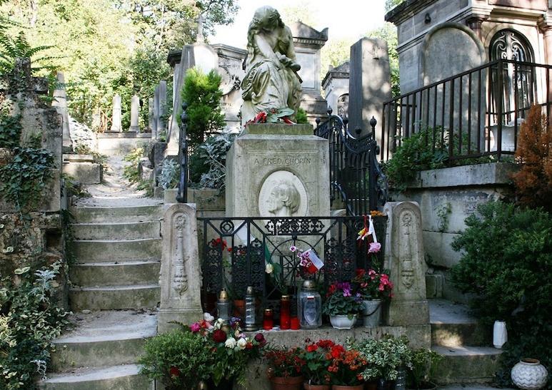 La tomba di Chopin