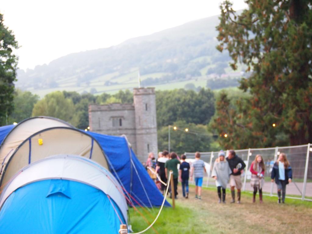 Una delle entrata al campeggio, foto di Gloria