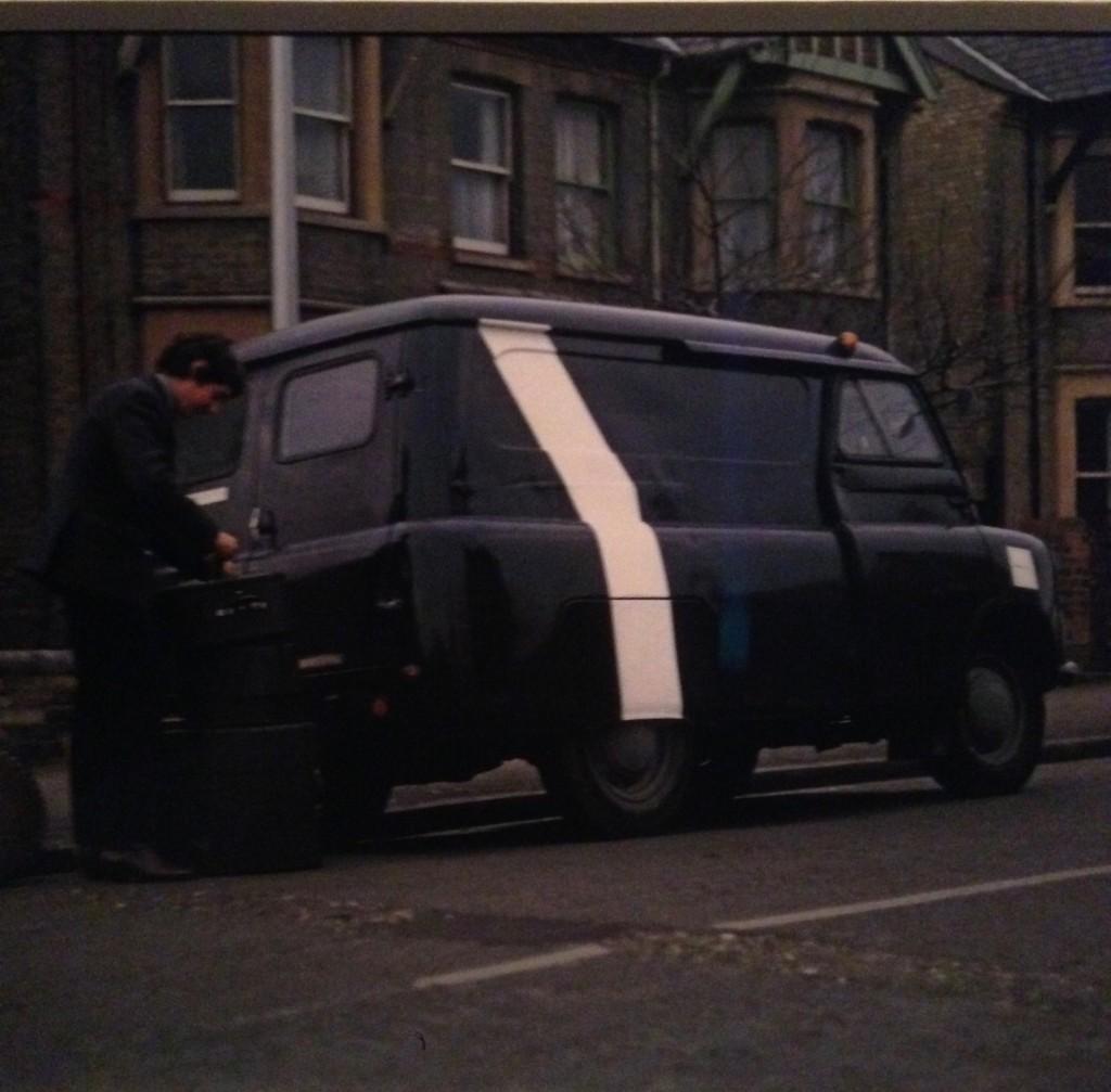 Il primo furgone dei Floyd, foto di Gloria