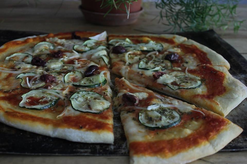 Pizza da Lata de Zinc