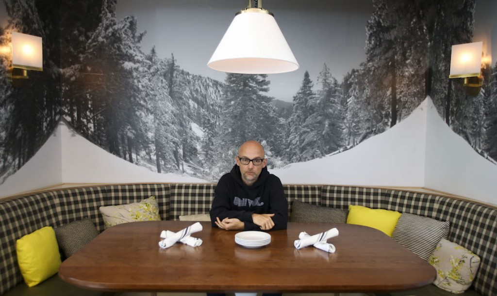 Moby, musician and owner of Little Pine restaurant.