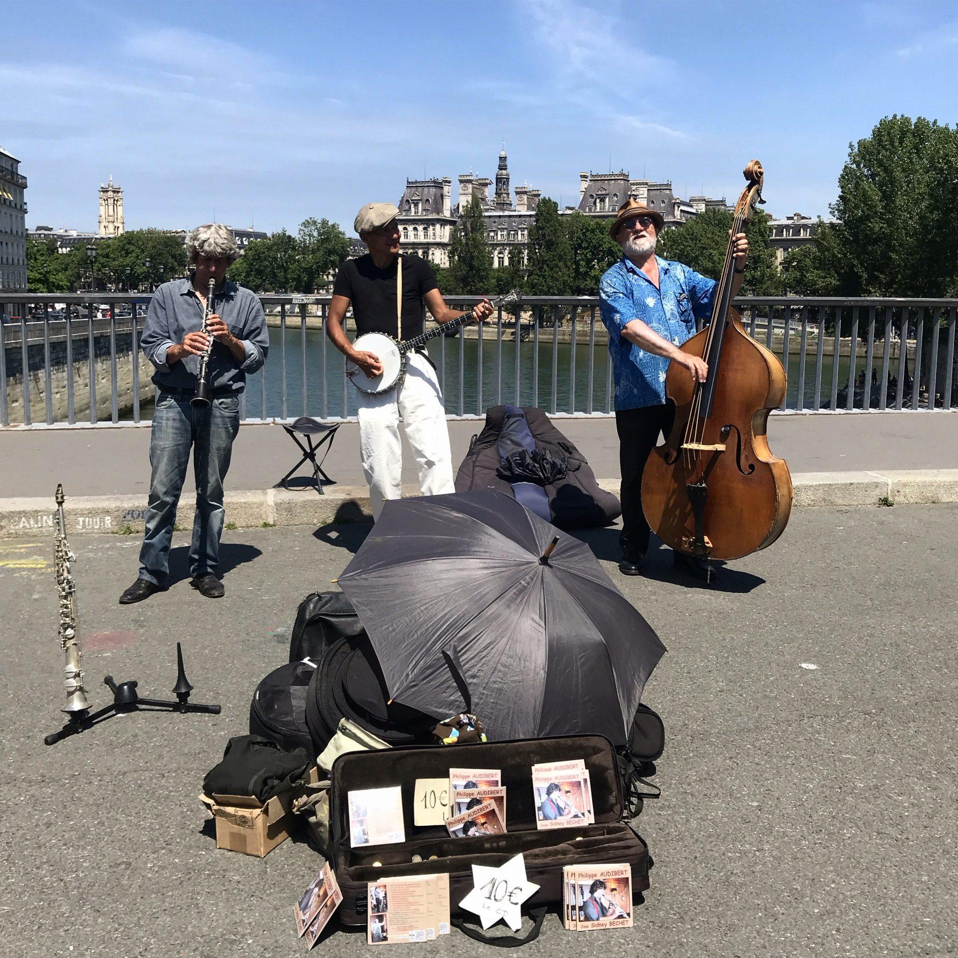 Street music in Paris, foto di Gloria