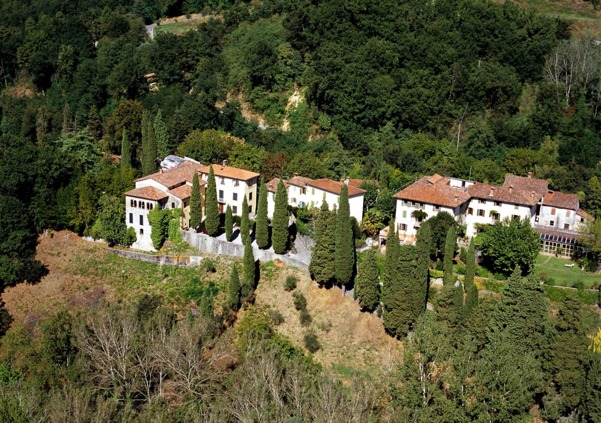 Casa Pascoli, vista aere