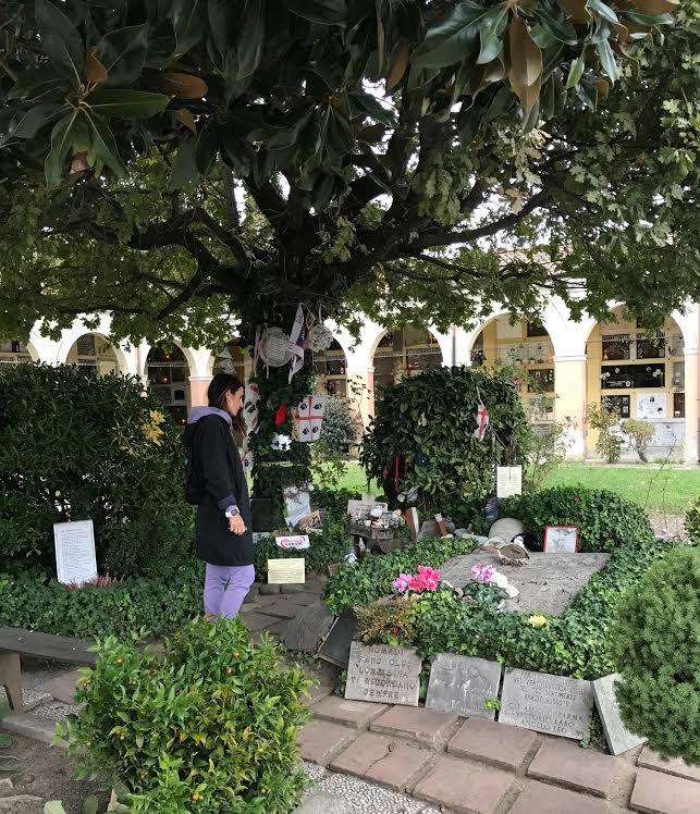 Eccomi sulla tomba di Augusto