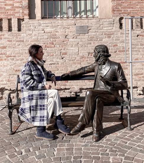 statua Giuseppe Verdi
