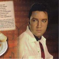 Spaghetti alla Elvis Presley, la ricetta di Cristina per Musicpostcards