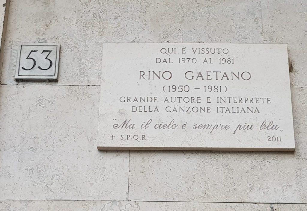 Targa Rino Gaetano