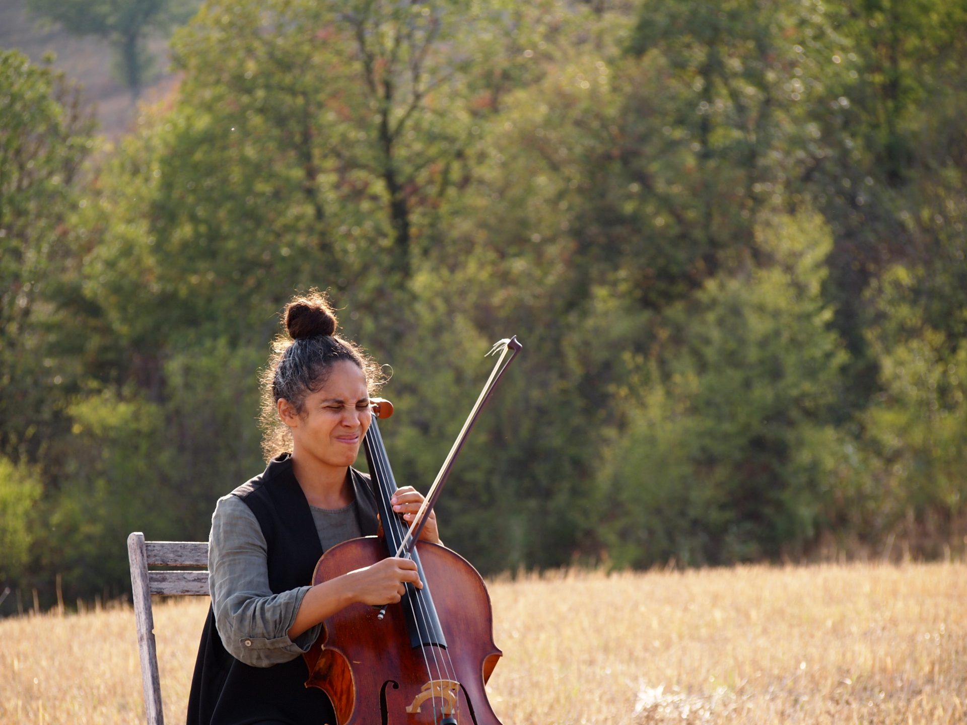 violinista Daniela Savoldi,
